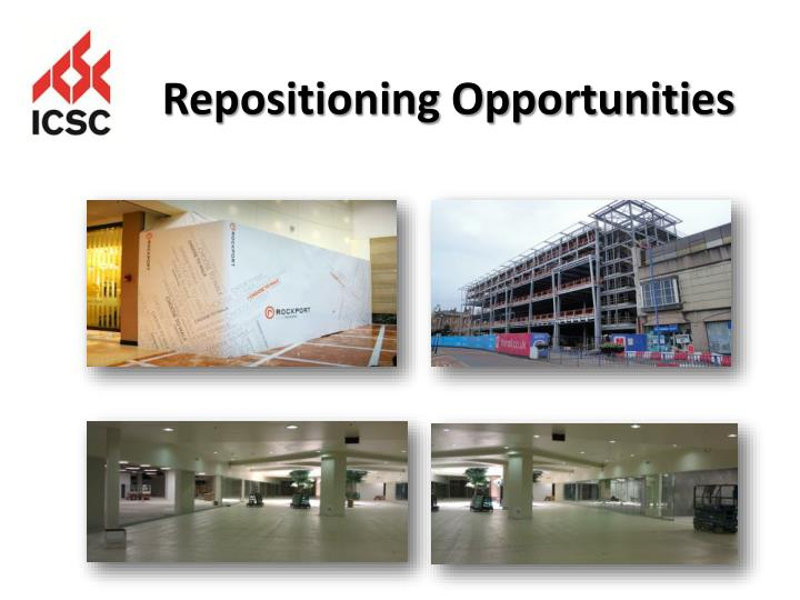 Repositioning Opportunities