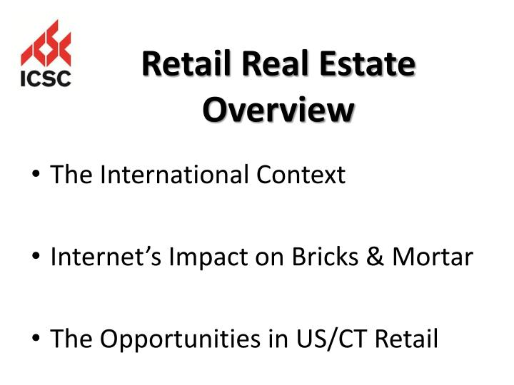 Retail real estate overview