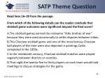 satp theme question