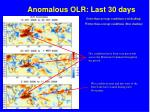 anomalous olr last 30 days