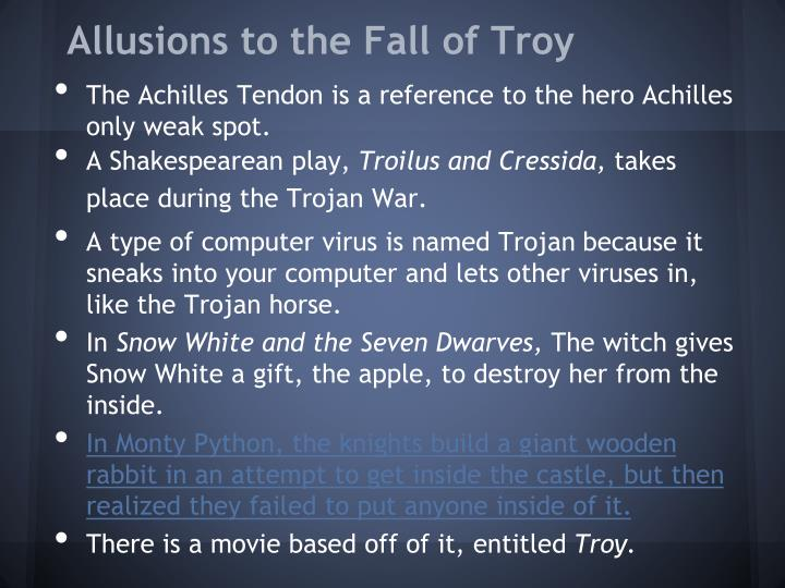 PPT - The Fall of Troy and The Adventures of Aeneas PowerPoint ...
