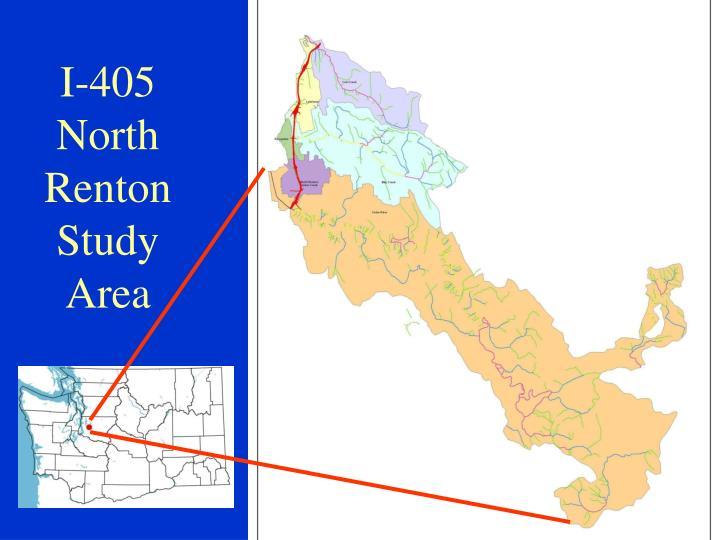 I-405 North Renton Study Area