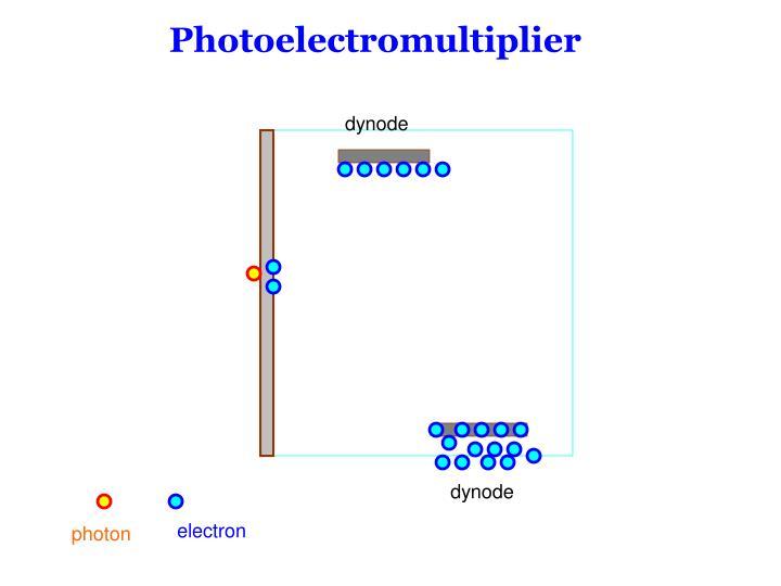 Photoelectromultiplier