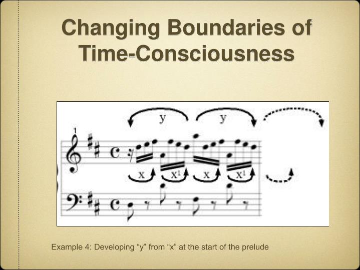 Changing Boundaries of Time-Consciousness