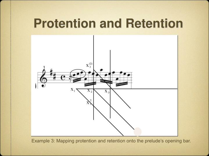 Protention and Retention
