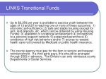 links transitional funds