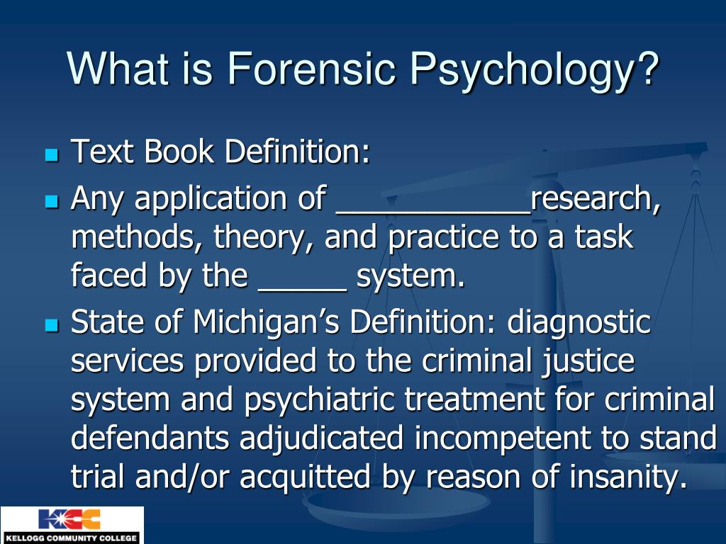 Ppt Criminal Psychology Powerpoint Presentation Free Download Id 1736299