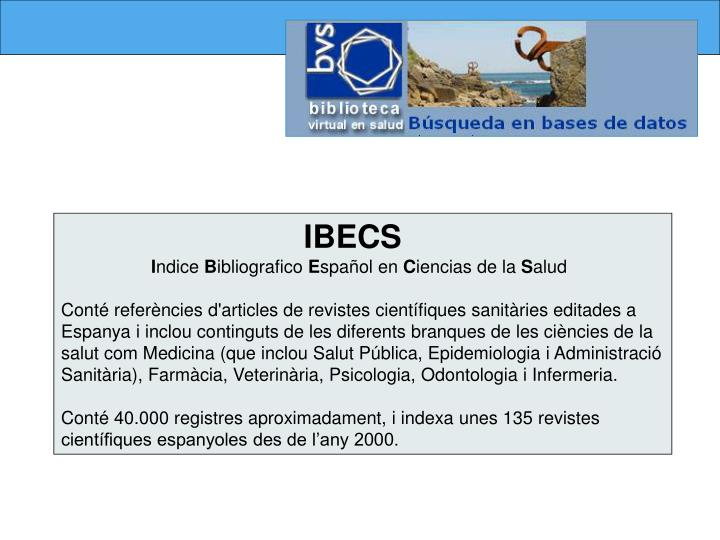 IBECS