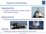 department of navy messages