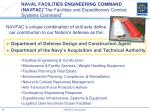 naval facilities engineering command navfac the facilities and expeditionary combat systems command