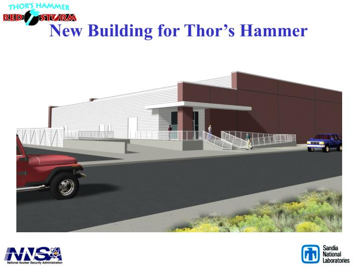New Building for Thor's Hammer