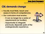cbl demands change