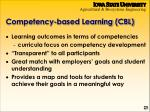 competency based learning cbl