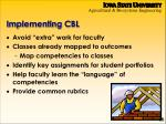 implementing cbl