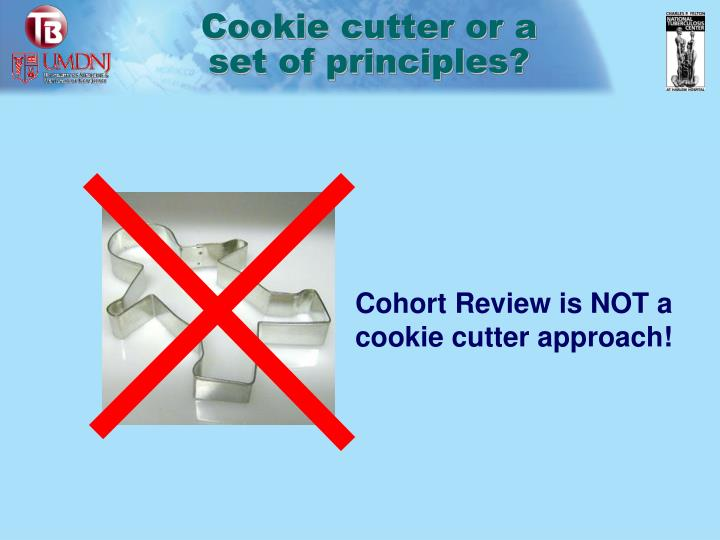 Cookie cutter or a