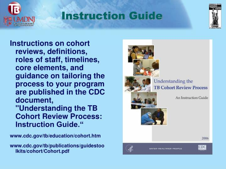 Instruction guide