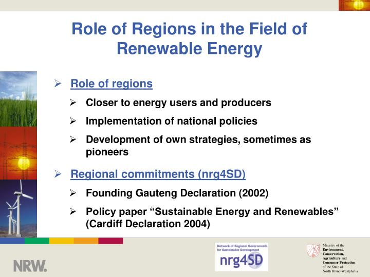 the role of renewable energies in Issn: 2354-2276 the energy crisis, the role of renewable and global warming by abdeen mustafa omer.