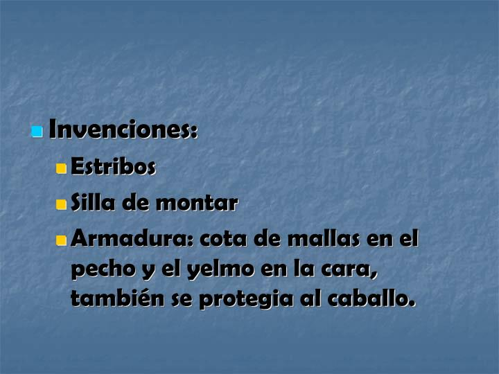 Invenciones: