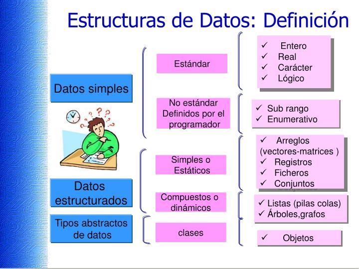 Estructuras de Datos: Definición