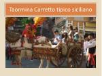 taormina carretto tipico siciliano