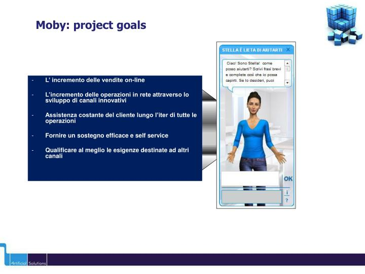 Moby project goals