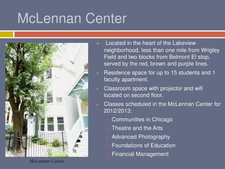 McLennan Center