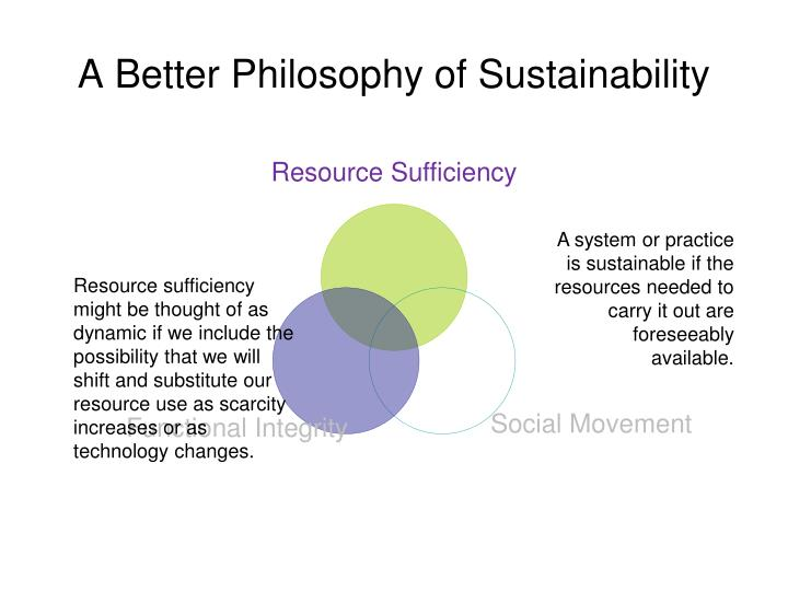 Resource Sufficiency