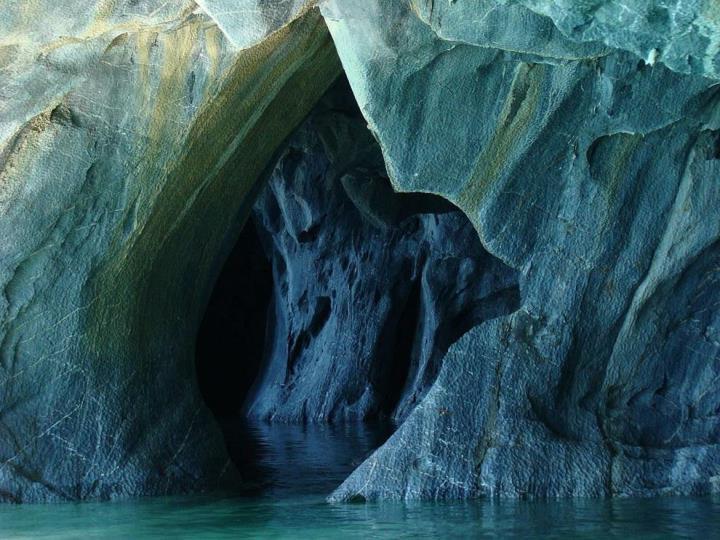 Jaskinie najwi kszego jeziora patagonii