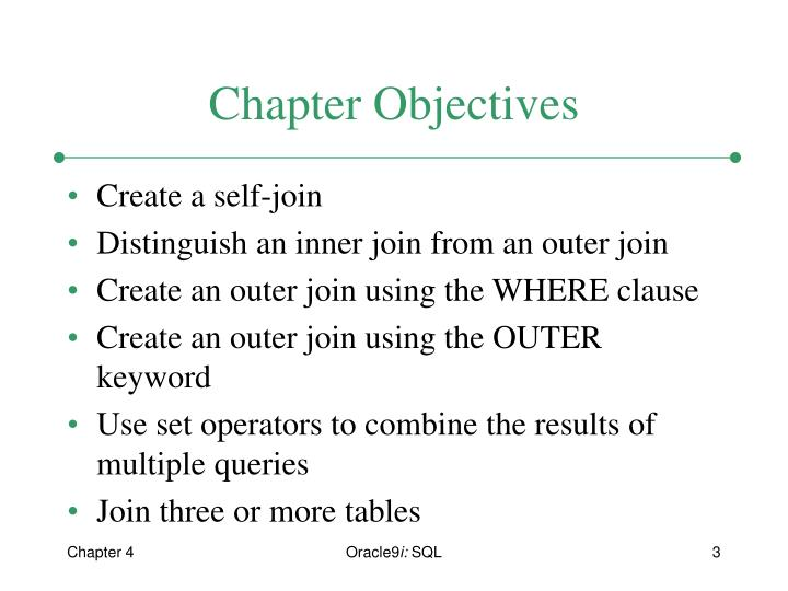 Ppt Chapter 4 Joining Multiple Tables Powerpoint Presentation Id
