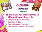 carnaval carnevale carnival