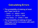 calculating errors1