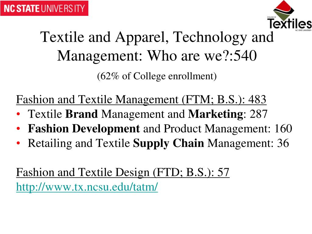 Ppt North Carolina State University College Of Textiles Powerpoint Presentation Id 1739261