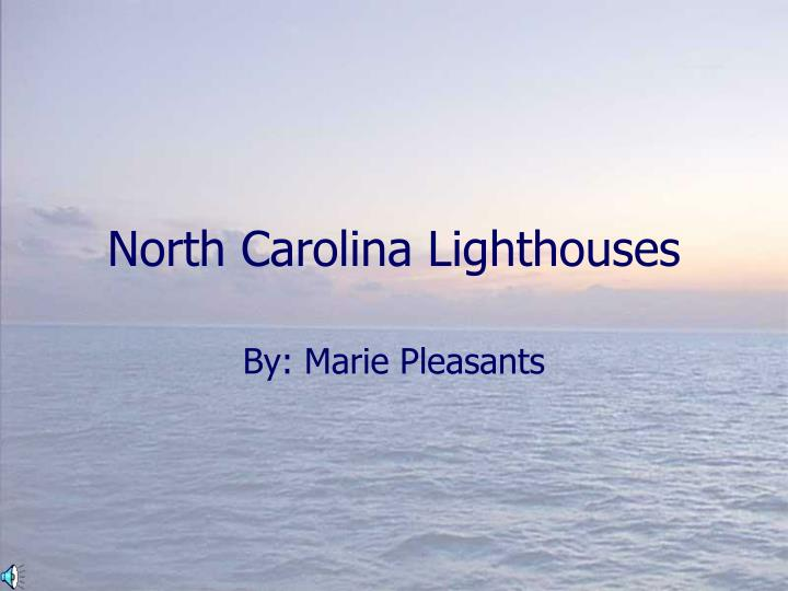 north carolina lighthouses n.