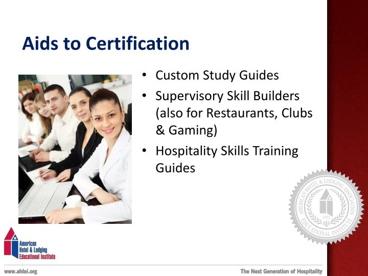 Aids to Certification