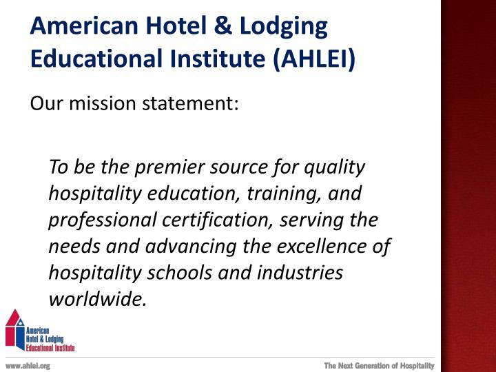 American Hotel & Lodging