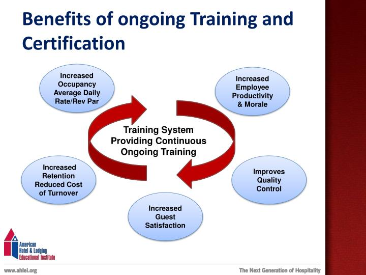 Benefits of ongoing Training and Certification