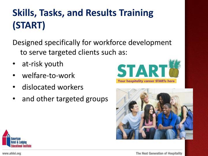 Skills, Tasks, and Results Training (START)