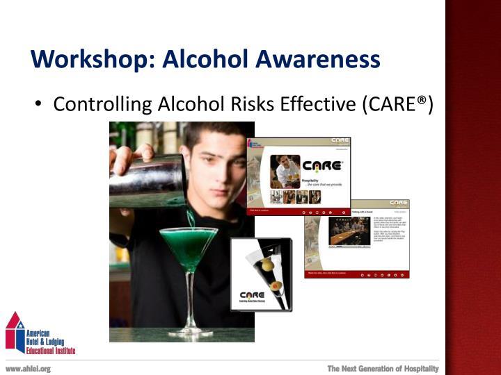 Workshop: Alcohol Awareness