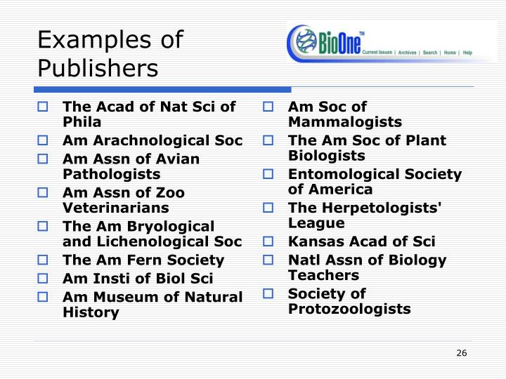 The Acad of Nat Sci of Phila