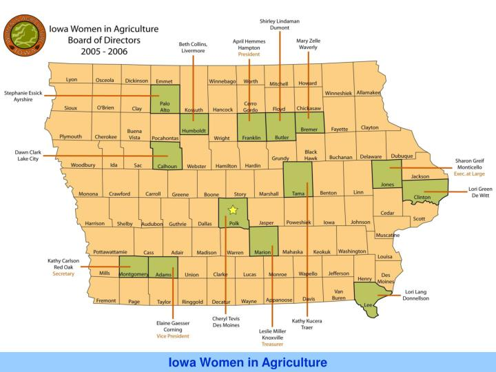 Iowa Women in Agriculture