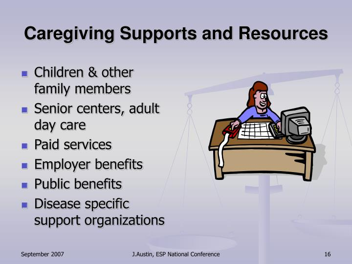 Caregiving Supports and Resources