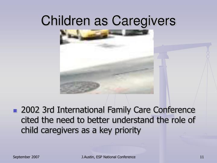 Children as Caregivers