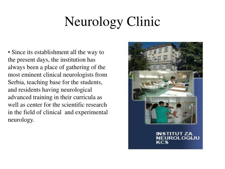 Neurology clinic1