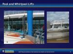 pool and whirlpool lifts