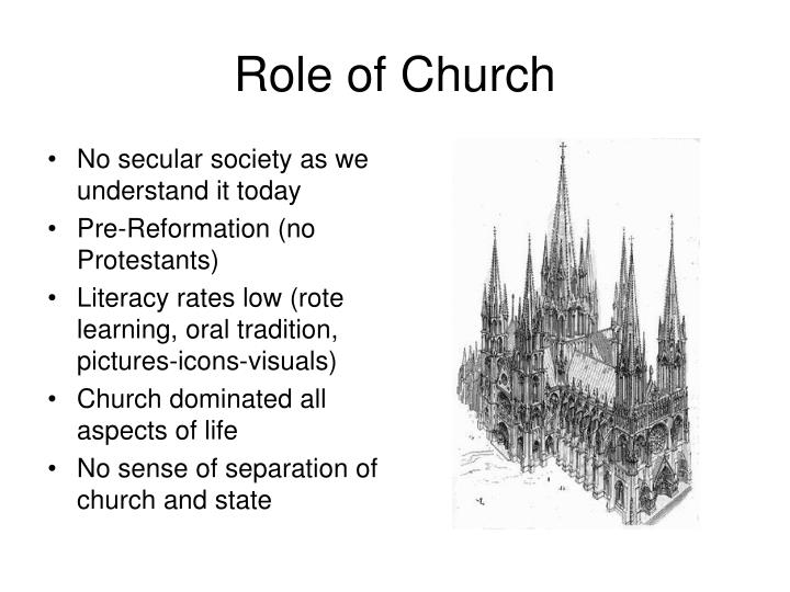 Role of Church