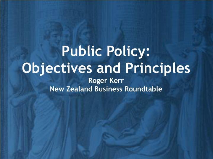 Public Policy: