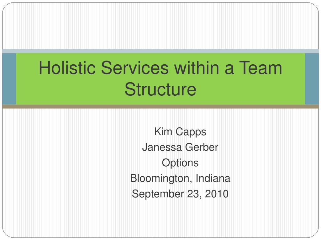 ppt - holistic services within a team structure powerpoint, Powerpoint templates
