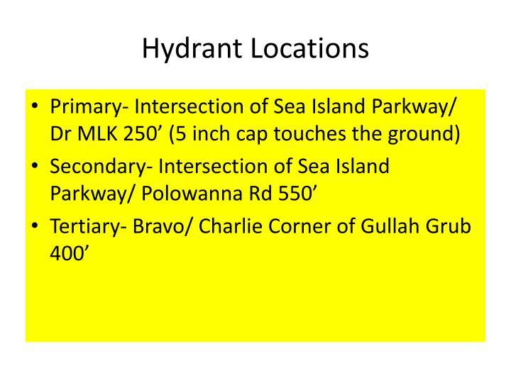 Hydrant Locations
