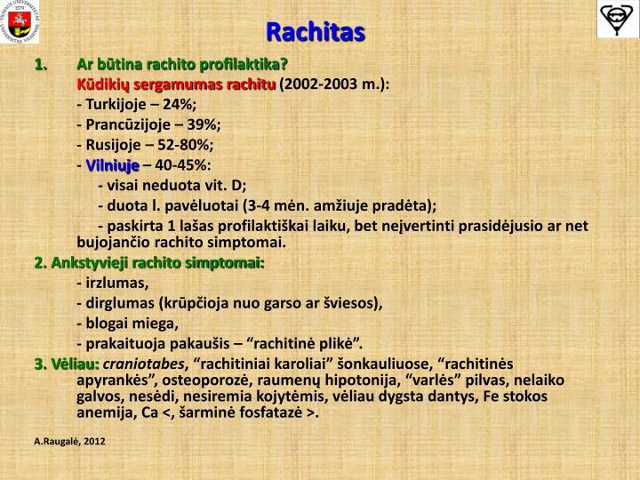 Rachitas