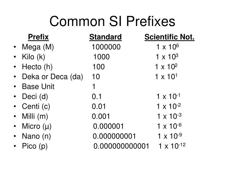 ppt - standards of measurement powerpoint presentation